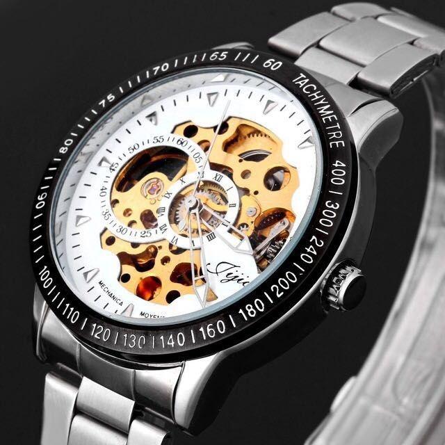 Relógio Jijia Silver Automático