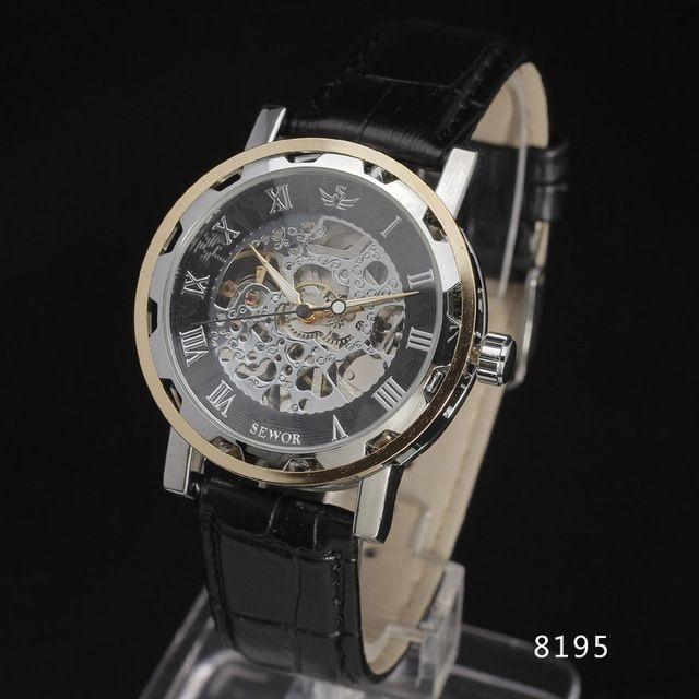 3b0702a61ef Relógio Sewor Automático Black - Dali Relógios