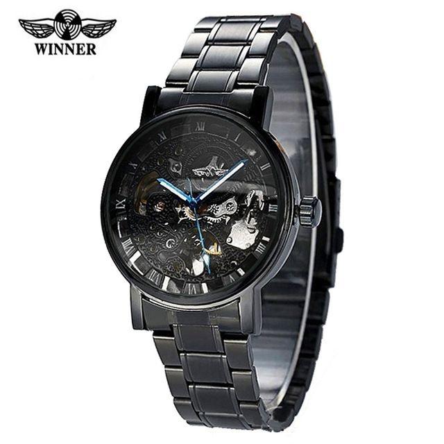 Relógio Winner Automático Black Edition