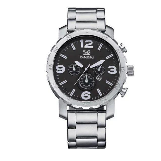 Relógio Kanishi Steel estilo Fossil