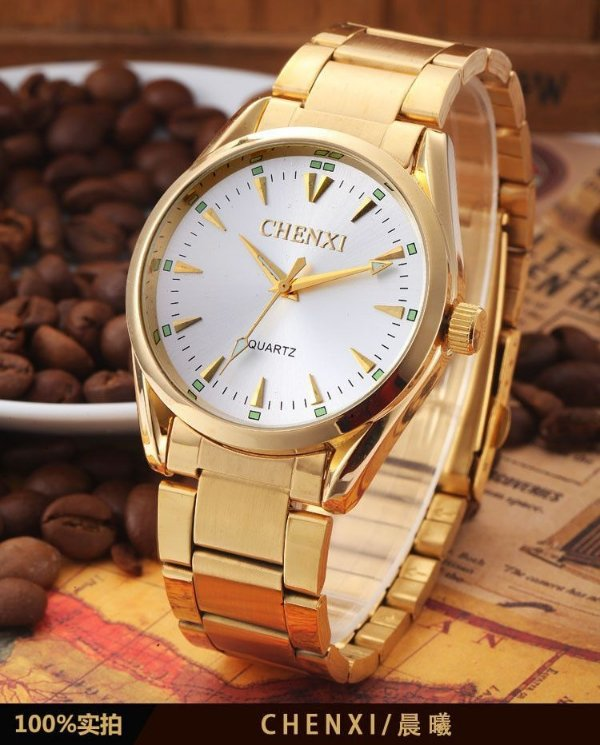 Relógio Chenxi Gold Classic