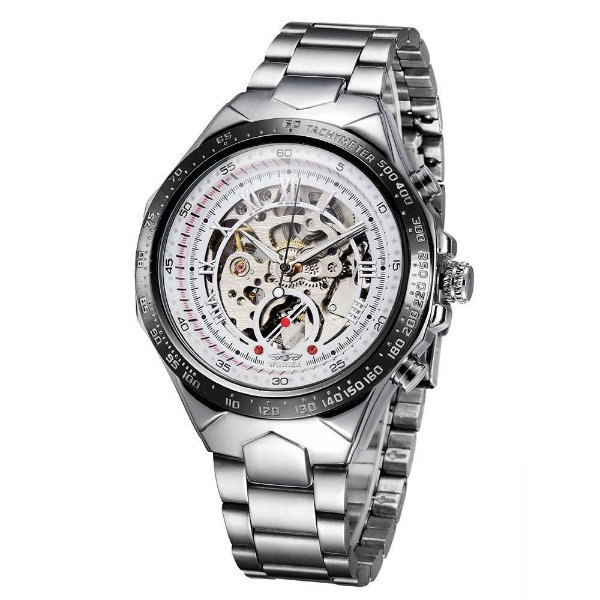 Relógio Winner Automático Silver