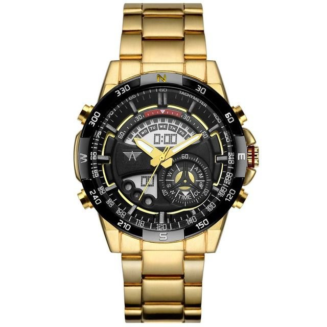 Relógio AMST Digital Gold