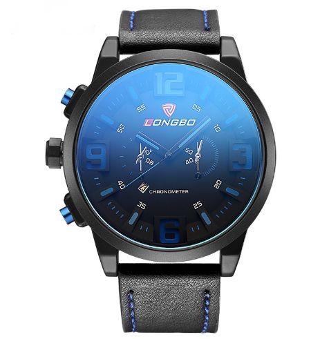 Relógio Longbo Leather