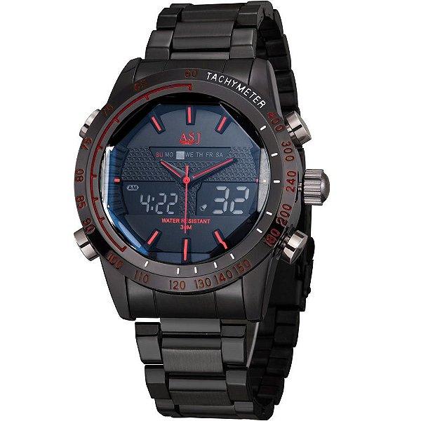5814444950b Relógio ASJ Steel - Dali Relógios