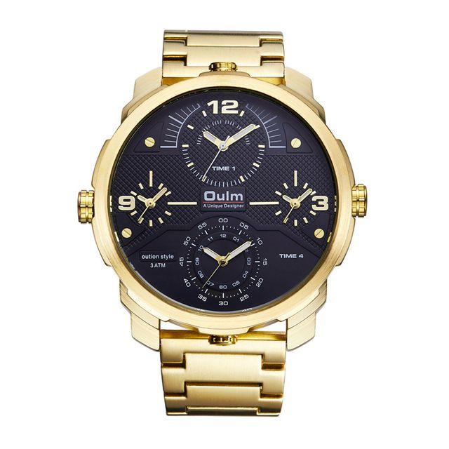 95ee7ba1f30 Relogio Masculino Dourado Oulm Diesel - Dali Relógios