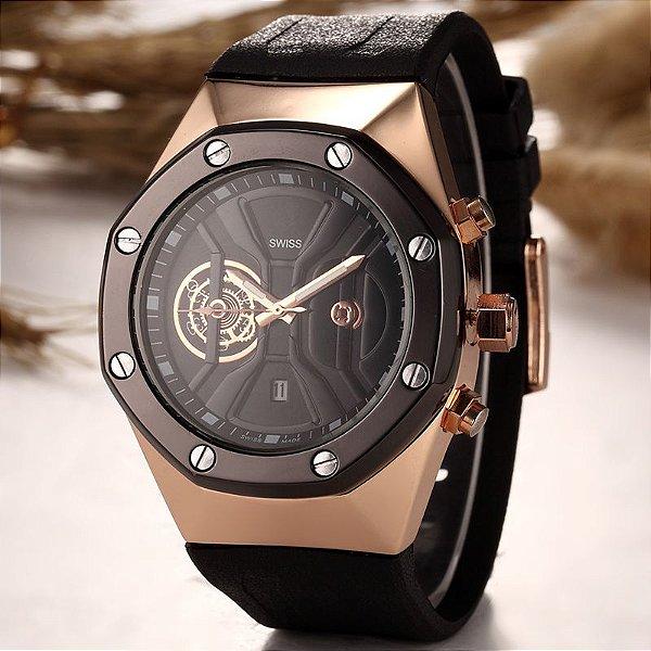 Relógio Swiss AP Luxo