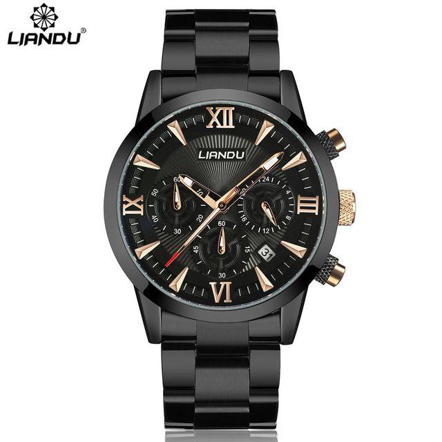 Relógio Liandu Luxo Funcional