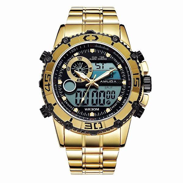 7b44856895a Relógio Amuda Digital 007 - Dali Relógios