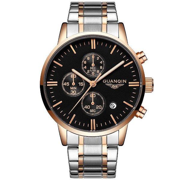 Relógio Guanqin Luxo Funcional