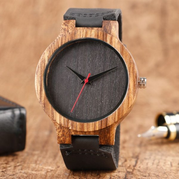 Relógio Yusuya Grey Bambu