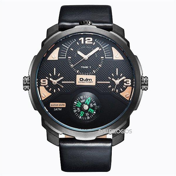 f4ce6ec4eb8 Relógio OULM Bússola - Dali Relógios