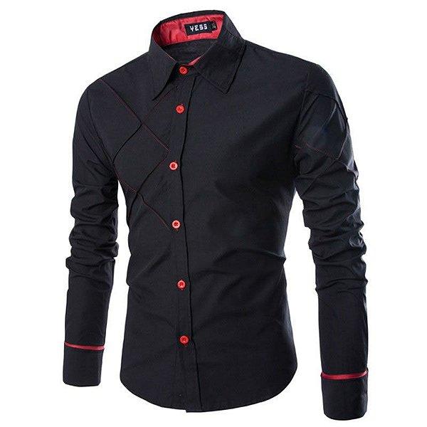 Camisa Social Gaborone - Slim Fit - Masculina