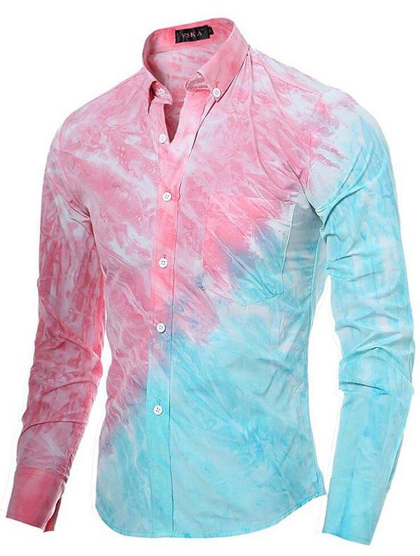Camisa Social VSKA Print - Slim Fit - Masculina