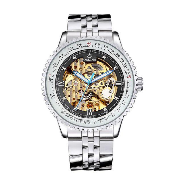 Relógio Orkina Skeleton Automático