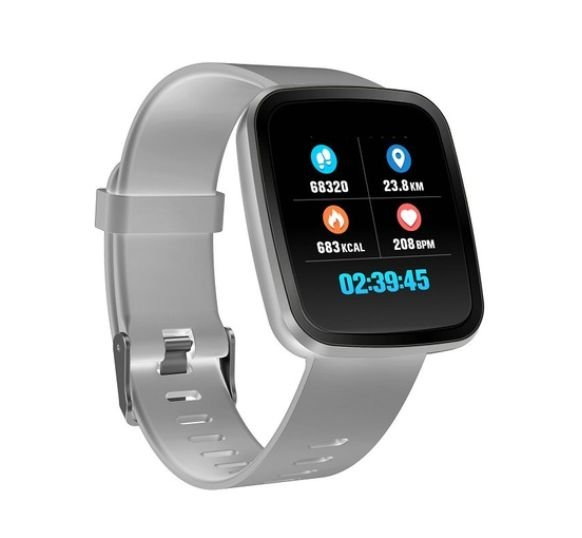 Relógio Smartwatch CF V6 - iPhone ou Android - 42mm