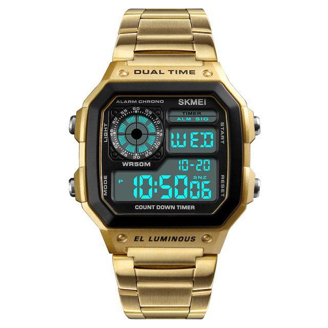 0f2f9cff345 Relógio SKMEI Vintage Digital - Dali Relógios