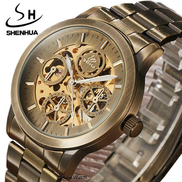 Relógio Shenhua Bronze Automático