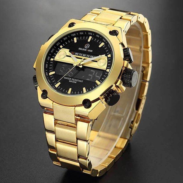 Relógio Golden Hour Tycoon