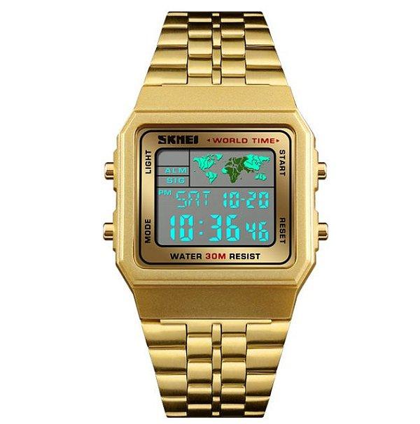 Relógio Skmei World Time