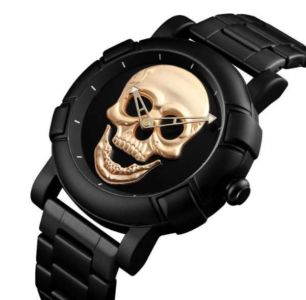 Relógio Masculino Skmei Skull