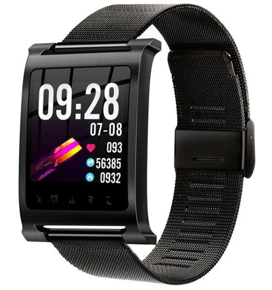 Relógio Eletrônico Smartwatch Magnus K6 Inox - Android e iOS