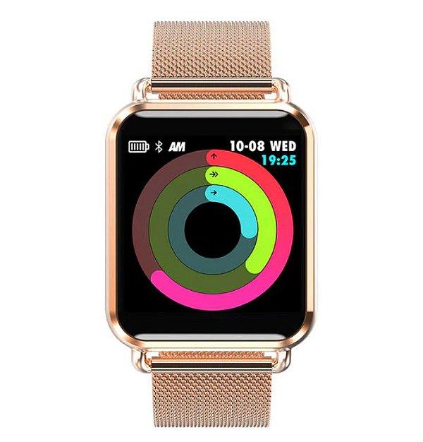 Relógio Eletrônico Smartwatch Q3 - Android e iPhone