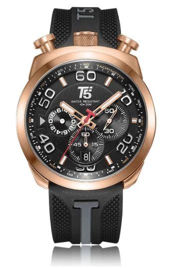 Relógio Masculino T5 - 100% Funcional - Pulseira em Silicone