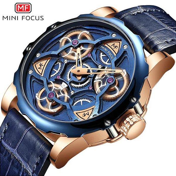 Relógio Masculino 100% Funcional Mini Focus