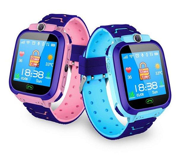 Relógio Smartwatch Infantil - SOS Inteligente