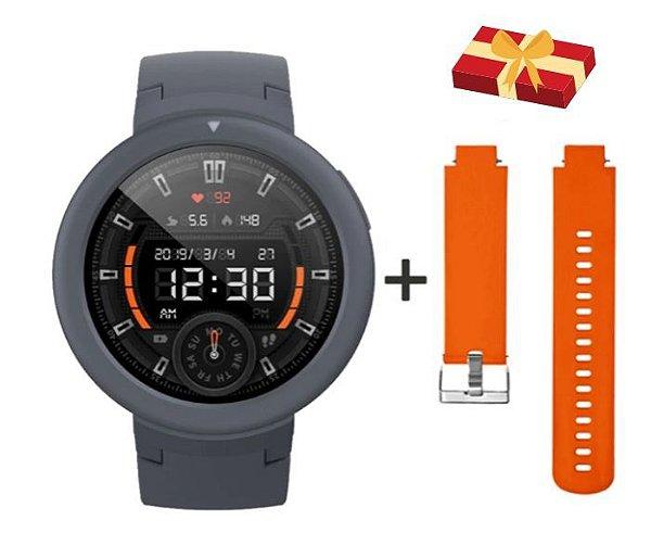 Relógio Smartwatch Cardíaco Xiaomi Amazfit Verge A1811 com GPS/Glonass + Pulseira de Brinde