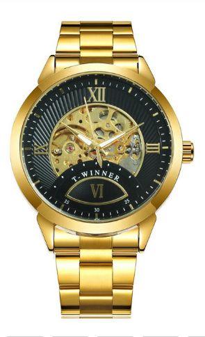 Relógio Masculino Automático Winner 506 - Aço Inoxidável