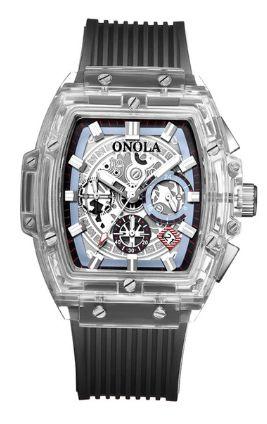 Relógio Masculino Onala Cristal