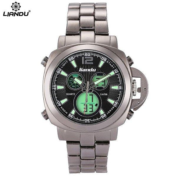 4069418e84b Relógio Liandu Luxo Digital - Dali Relógios