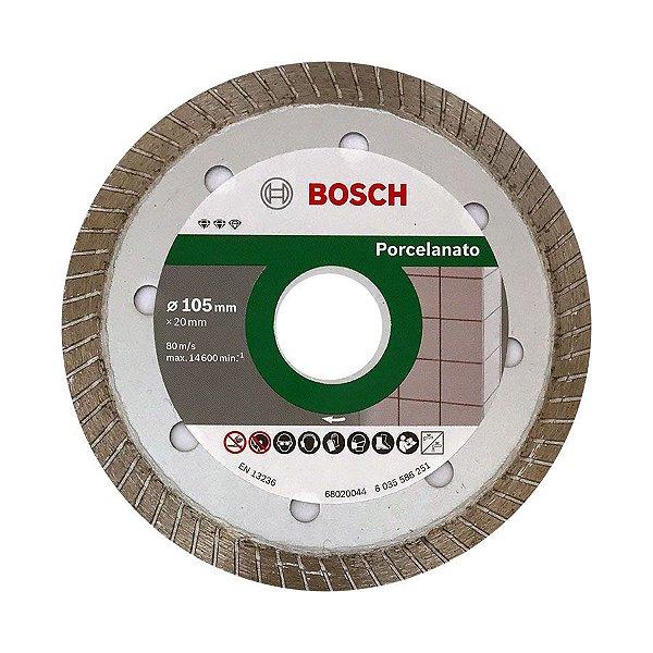 "Disco Diamantado Turbo Fino Porcelanato Bosch 4"" (105mm)"