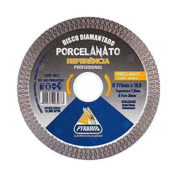 "Disco Diamantado Turbo X Porcelanato 4,5"" (115mm)"