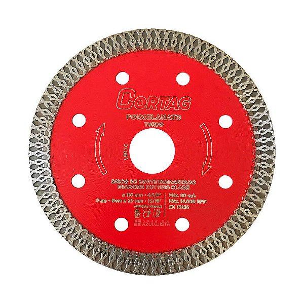 Disco Diamantado Turbo Porcelanato Best Quality (110mm)