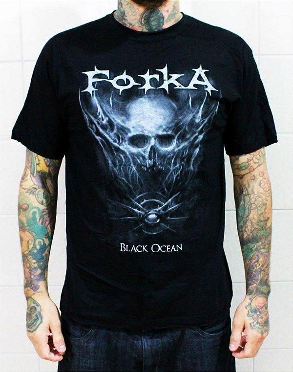 Camiseta Forka Black Ocean