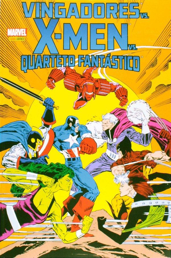 Vingadores vs X-men vs Quarteto Fantástico