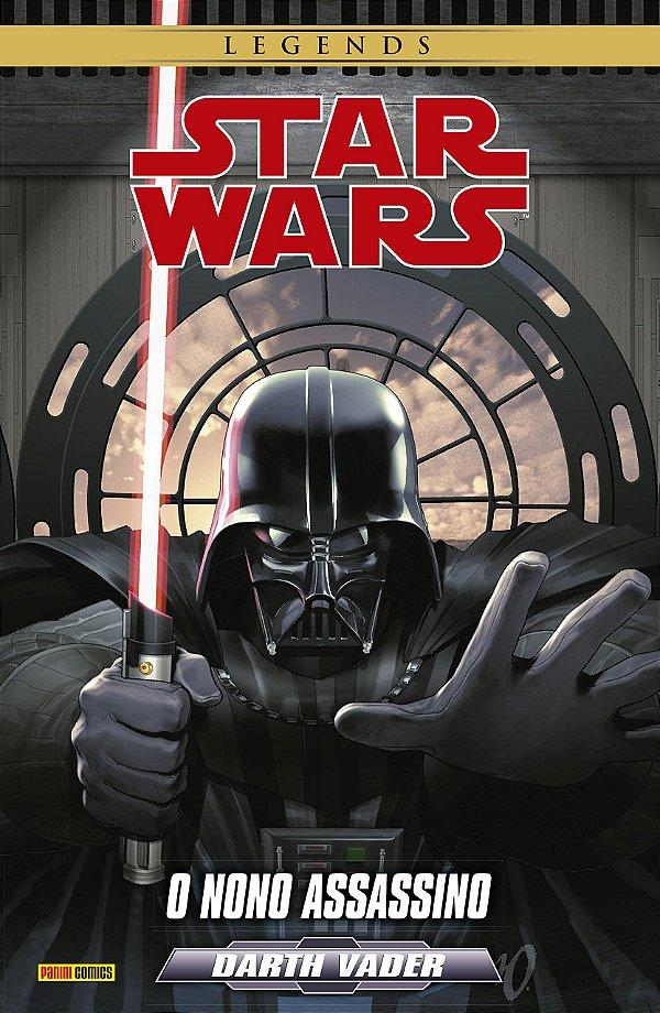 Star Wars Darth Vader. O Nono Assassino + Mini Quadro em PVC
