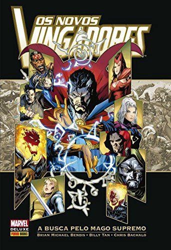 Os Novos Vingadores - A Busca Pelo Mago Supremo + Quadro Dr Strange 30x20 Cm