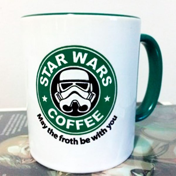 CANECA STAR WARS - COFFEE TROPPER