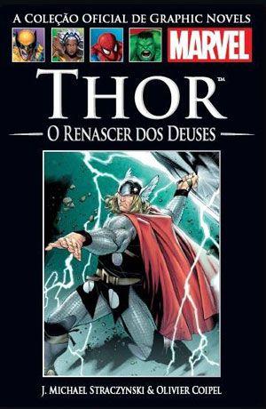 Thor o Renascer dos Deuses - Graphic Novels Salvat