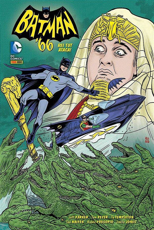 Batman 66 - Rei Tut Ataca!
