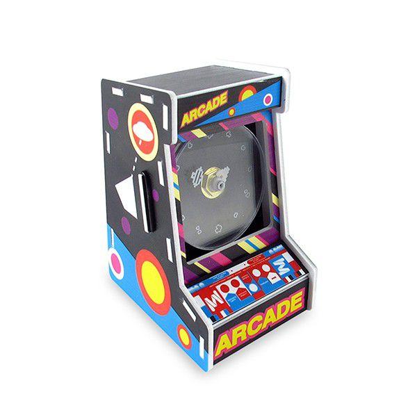 Relógio de Mesa Arcade
