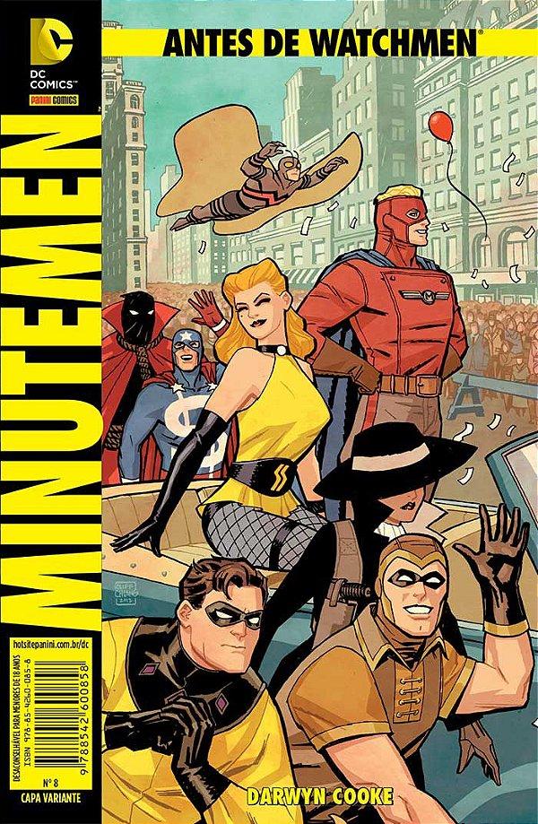 Antes de Watchmen - Minutemen