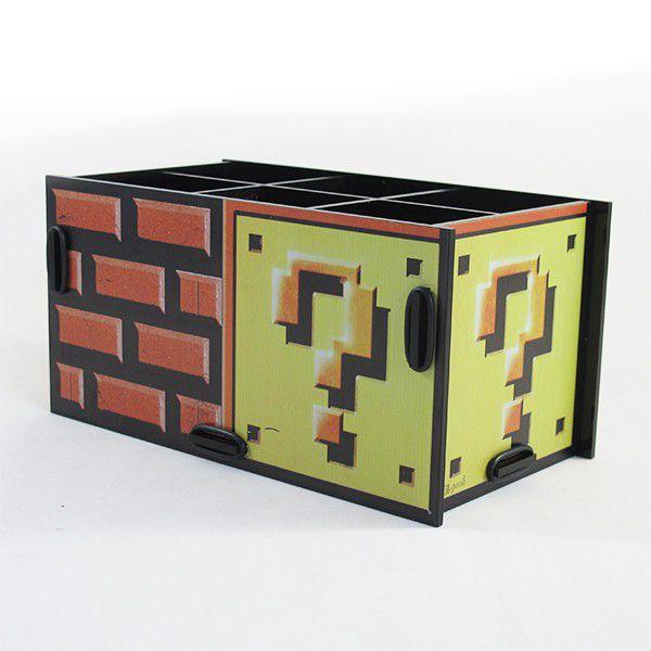 Porta Treco Bloco Mario Bros