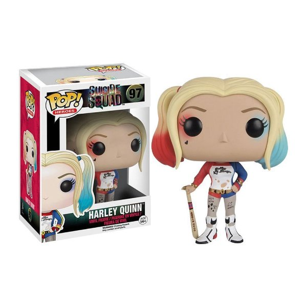 Funko Pop! Harley Quinn do filme Suicide Squad