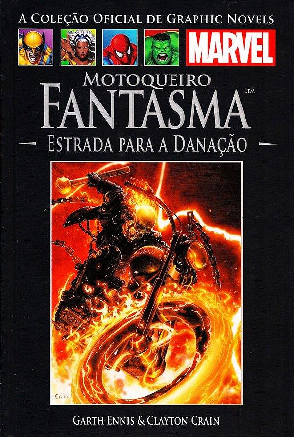MOTOQUEIRO FANTASMA - ESTRADA PARA A DANAÇÃO - GRAPHIC NOVELS MARVEL ED. 14