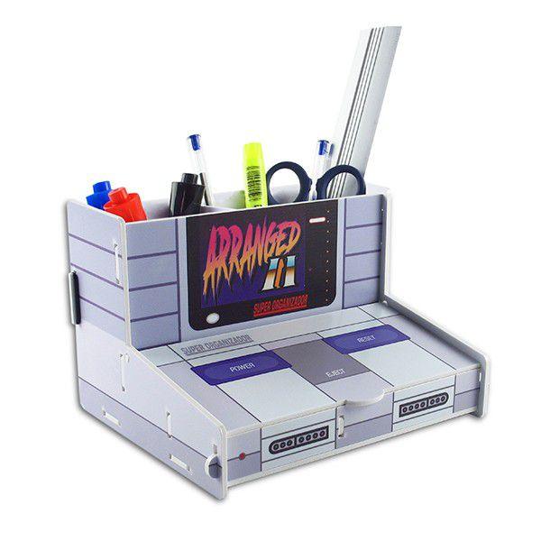 Organizador de Escritório Console (Super Nintendo)